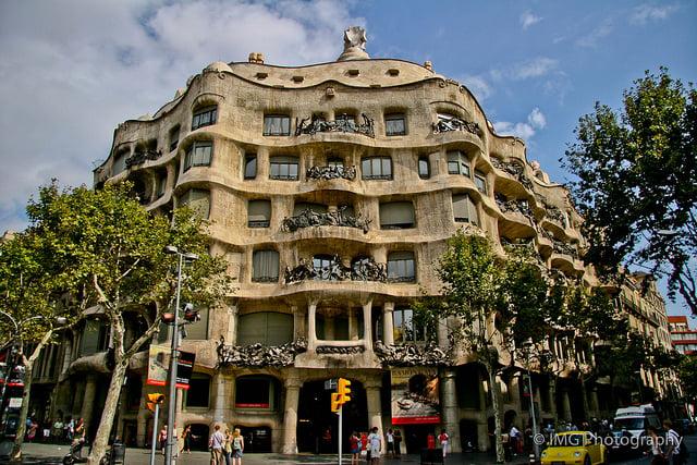 Casa Mila Barcelone
